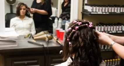 beauty salon database